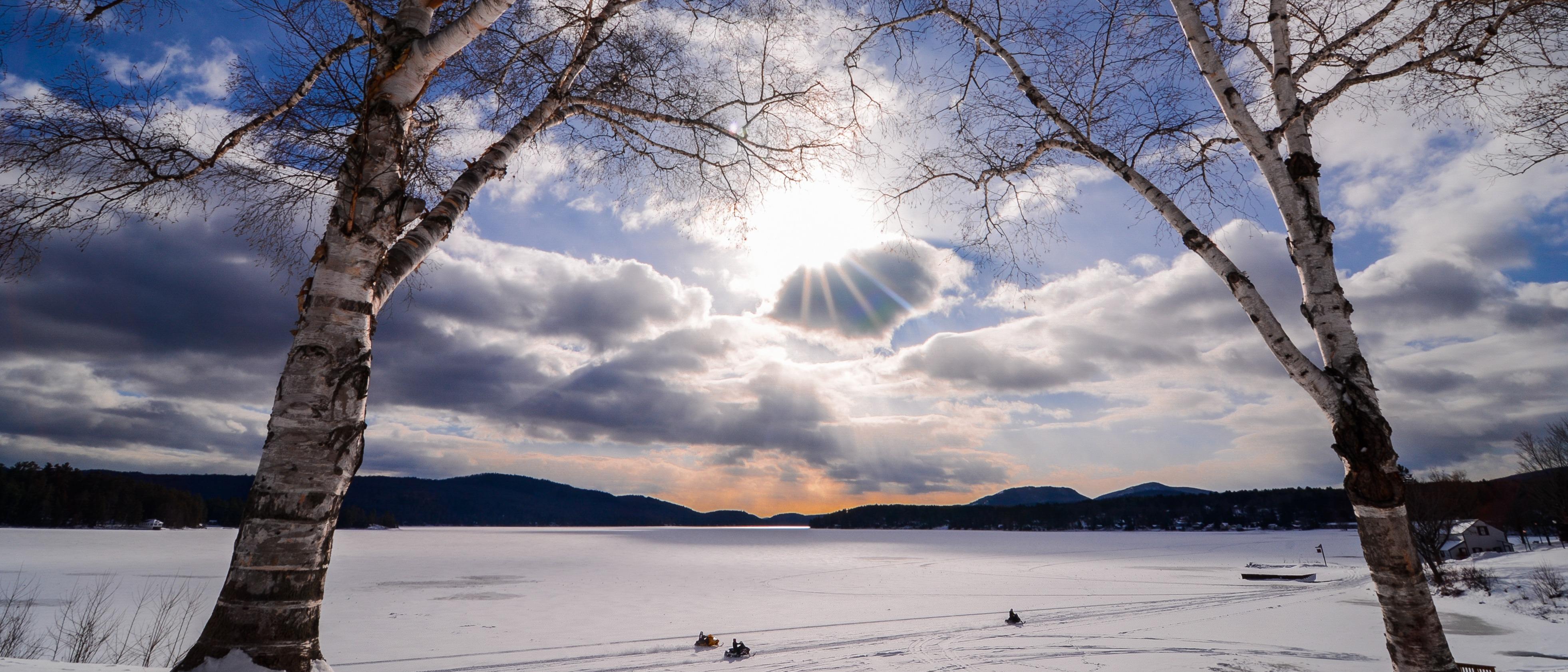 Frozen Schroon Lake
