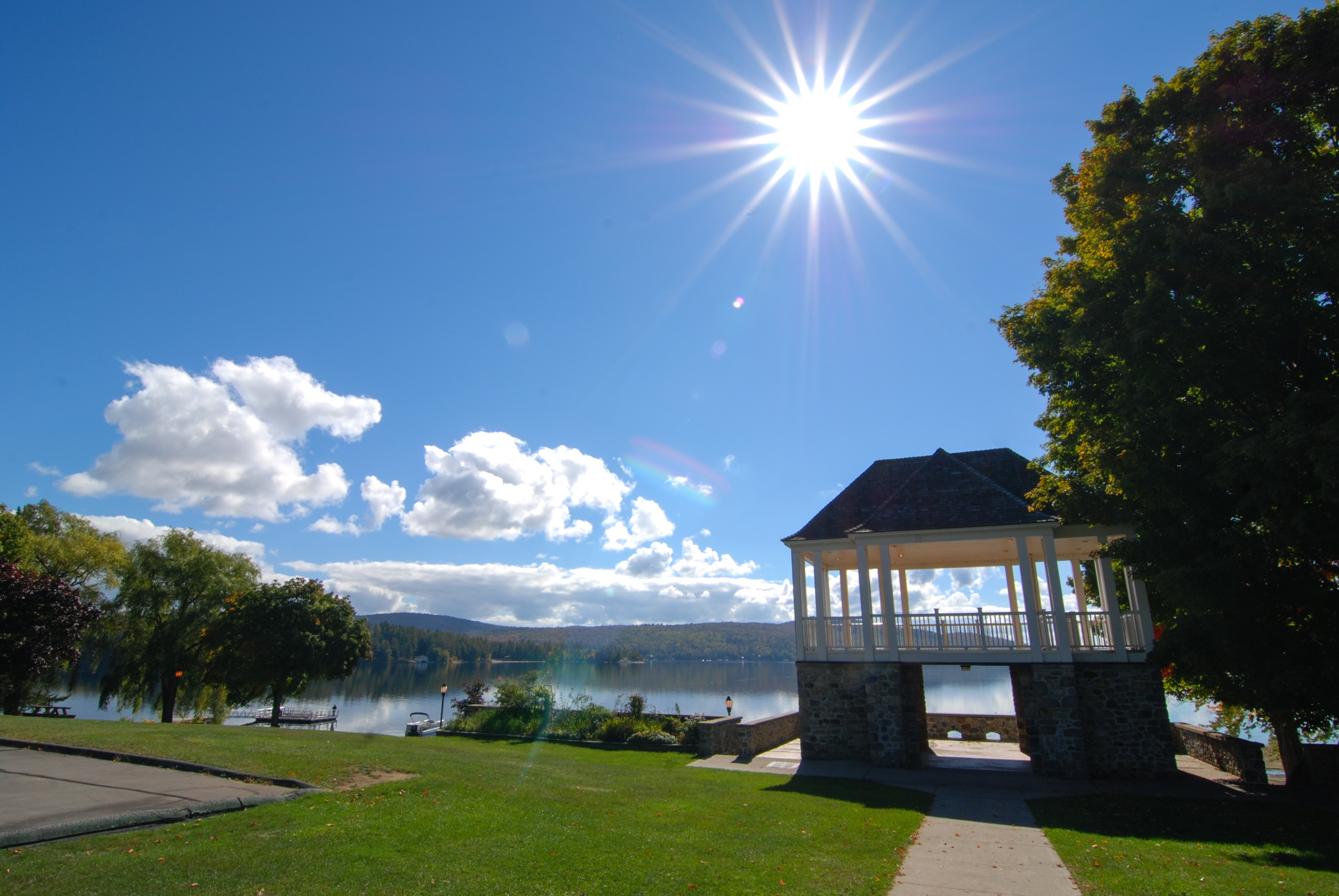 Schroon Lake Bandstand