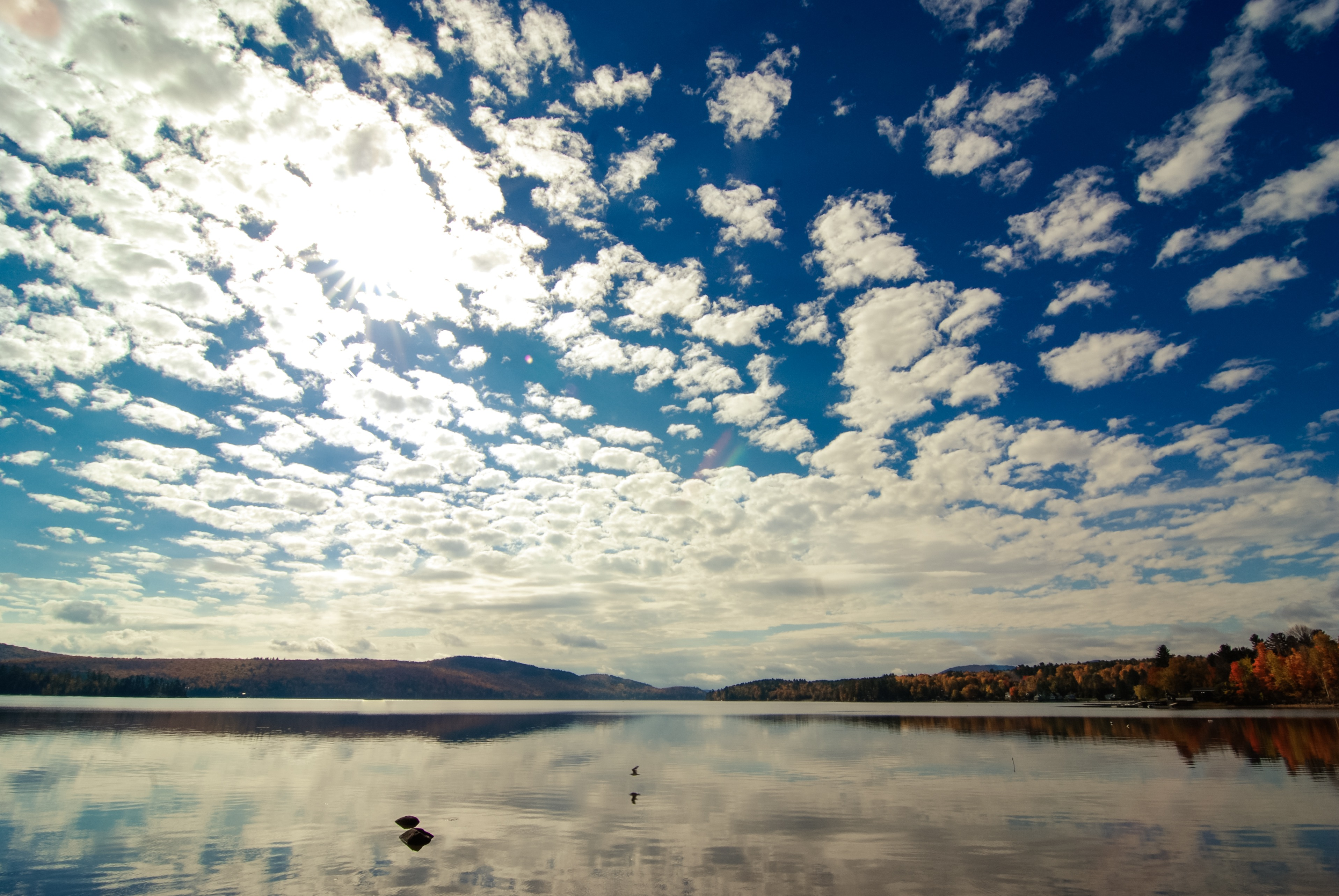 Schroon Lake Clouds