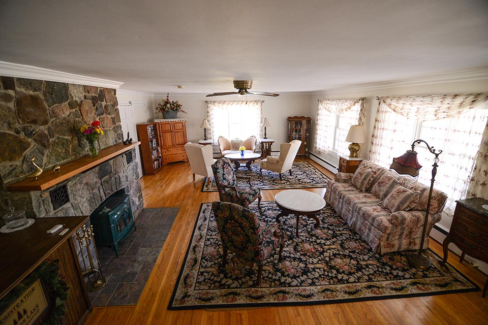 Schroon Lake B&B Living Room